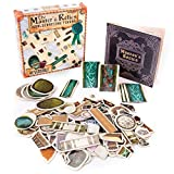 Master's Relics - RPG Item Token Accessory Set - 200+ Double-Sided Dry / Wet Erase Reversible Object Pawns for Fantasy Tabletop Roleplaying Game Terrain Tiles and Dungeon Battle Maps - D&D Compatible