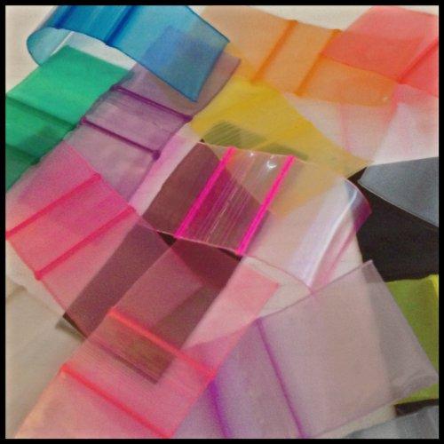 "Mini Ziplock Apple Brand 1010 Chose A Color (16 Choices) 1"" X 1"" Bags Reclosable Plastic Baggies Apple Brand High End Quality (blue) Photo #2"
