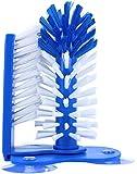 com-four Gläserspülbürste mit Saugnäpfen für Spülbecken - Abwasch-Bürste für Gläser, Tassen und Becher - ideal für Gastro oder Haushalt