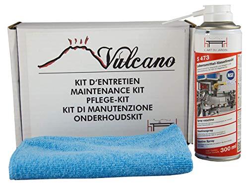 Vulcano Kit de nettoyage pour fumoir et autres barbecues en acier.