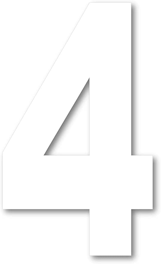 in 3D in polistirolo 4 cm spessore per decorazioni insegne e scritte 45 cm Altezza zero Numero 0