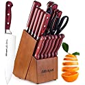 18-Pieces Alltripal Stainless Steel Kitchen Knife Set