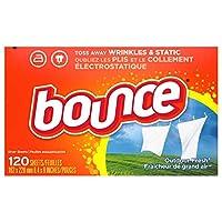 Bounce Outdoor Fresh 柔軟剤シート 120枚