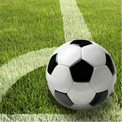 PAPSTAR 81637 Pappteller Football, Durchmesser: 230 mm, 10 Stück