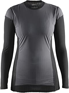 Craft Womens Active Extreme 2.0 Windstopper Windproof Lightweight Crewneck Long Sleeve Base Layer Training Shirt