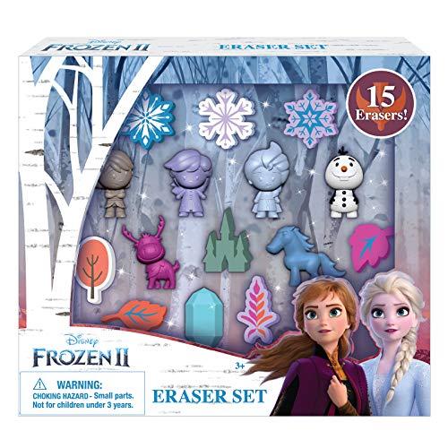 Disney Frozen 2 Erasers Set 15 Pack Frozen Gift for Kids