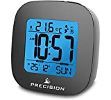 Precision Alarm Clock, Black, One Size