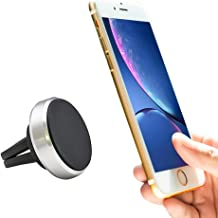 Magnetic car Phone Holder, Strong Magnets with Universal Air Vent Car Mount for All Smartphones and Mini Tablets