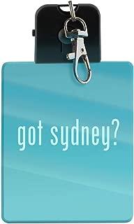 got sydney? - LED Key Chain with Easy Clasp