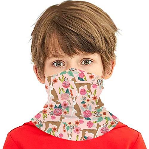 Mehrzweck-Bandana für Kinder, Jungen, Mädchen, UV-Schutz, Gesichtsabdeckung, Halstuch, Sturmhaube, Sturmhaube für heiße Sommer, Radfahren, Wandern, Sport, Outdoor,...