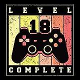 Level 18 Complete: Gästebuch zum 18. Geburtstag für Jungs & Männer Gamer Video Game Spiele Lover | 18er Geburtstagsdeko Buch & Album Glückwünsche und Fotos| Geschenke & Geschenkidee zum 18 Geburtstag
