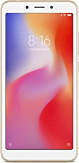 Xiaomi Redmi 6A Dual SIM - 16GB, 2GB RAM, 4G LTE, Gold - International Version