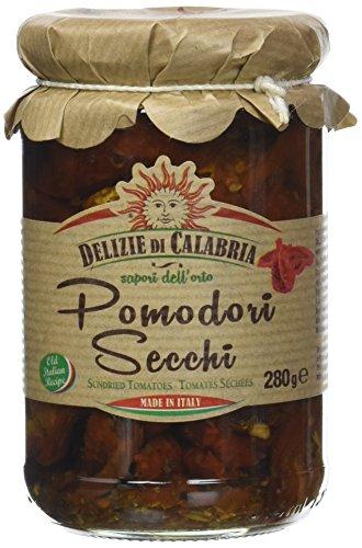 Delizie di Calabria Pomodori Secchi Sott'Olio - Pacco da 12 x 280 g