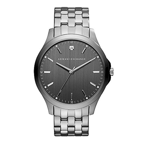 Armani Exchange Herren Analog Quarz Uhr mit Edelstahl Armband AX2169