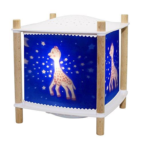 Trousselier - Sophie Die Giraffe - Nachtlicht - Magische Laterne ReVOLUTION 2.0 - Geburtsgeschenk - Sternenprojektor - Musik & Geschichten für Kinder im Streaming - Schrei detektor - Akku