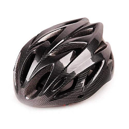 JZQJ Casque De Vélo De Montagne Casque Intégré De Vélo De Route avec Casque Taille Unique 9 / Noir Carbone