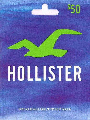 Hollister Gift Card $50