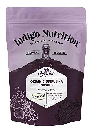 Indigo Herbs Bio Spirulina Pulver 200g