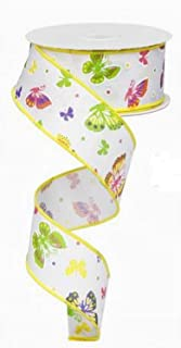 Best butterfly wired ribbon Reviews