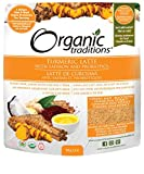 Organic Traditions Turmeric Latte with Probiotics and Saffron - 150 grams/ 5.3 ounces