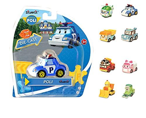 Robocar Poli 1 Véhicule Miniature die-cast à collectionner-Modèle aléatoire-Jouet Maternelle, 83151