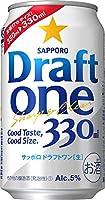 サッポロ 【新ジャンル(雑酒)】 3ケースセット ドラフトワン 330缶 (1ケース24本入り) (330ml)(350)