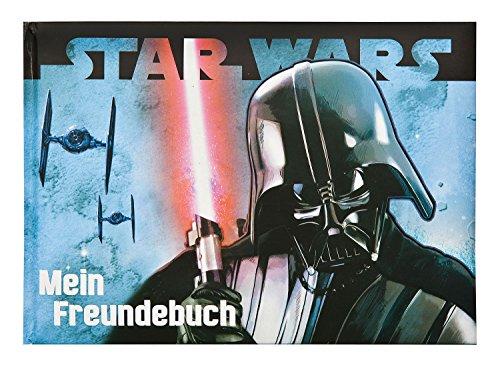 Undercover SWHX0962 Star Wars Freundebuch, Kindergartenfreundebuch, Poesiealbum, Blau