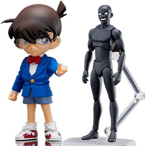 TQGG New Detective Conan Figure Edogawa Conan e Criminal Figure Anime Chibi Figure Action Figure