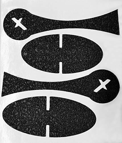 Foxx Grips -Gun Grip Wrap Compatible for Mossberg 500, 590 Shockwave Raptor Shotgun Grip Wrap Birds Head Grip (Rubber Grip Enhancement) (Black)