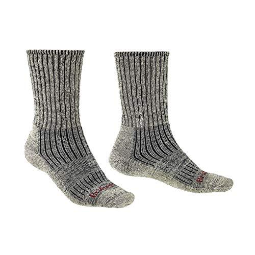 Bridgedale Herren Hike Midweight Merino Endurance Original Socken, steingrau, m