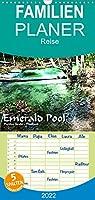 Emerald Pool, Provinz Krabi - Thailand - Familienplaner hoch (Wandkalender 2022 , 21 cm x 45 cm, hoch): Ein Naturwunder wie aus einer anderen Welt (Monatskalender, 14 Seiten )