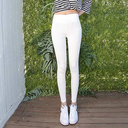 Leggings Plus Cashmere Flame Fluwelen elastische leggings voor dames, koudebestendige zwangerschapslegging, mujer solide all-match-zachte geschikte leggings XL whitevelvet