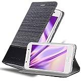 Cadorabo Coque pour HTC One A9 en Gris Noir – Housse Protection avec Fermoire...