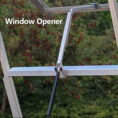 OurLeeme Auto Vent Opener, Solare Wärme Gewächshausfensteröffner 7kg Dachöffner Gartengeräte Automatischer Fensteröffner für Gewächshäuser