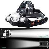 Zoom IMG-1 newlemo torcia frontale lampada led