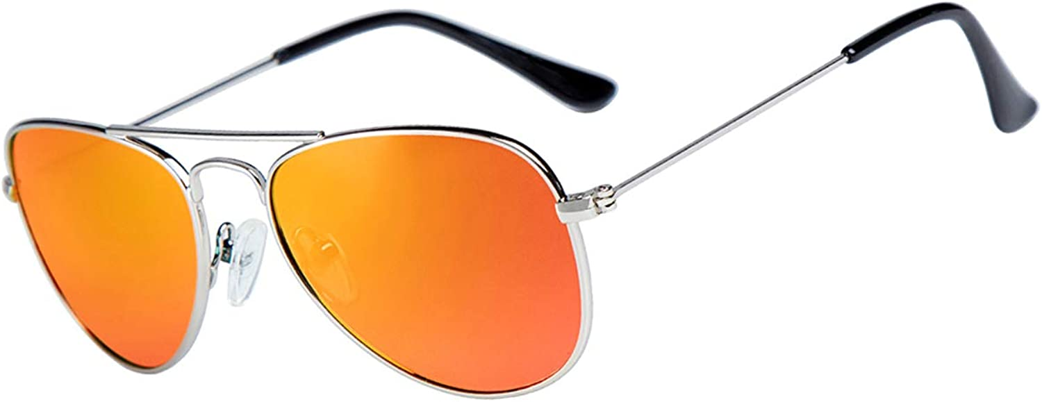 Kids trend rank Pilot Polarized Max 81% OFF Sunglasses for Boys Girls UVB Case with and