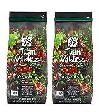 Juan Valdez Coffee Organic Cafe, 10 oz, Ground - Colombian Coffee (2 Pack)