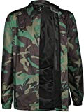 Nike SB 'Shield Icon Erdl' Coaches Jacket. Medium Olive/Black. L