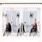 Polontex Disney - Cortinas con banda universal de Star Wars Darth Vader 225 cm de ancho x 144 cm de largo para habitación infantil