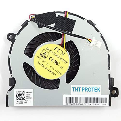 Lüfter Kühler Fan Cooler Kompatibel für Dell Inspiron 15 5547 15R-158s 14MD-1628S DP/N 03RRG4