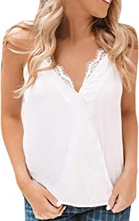 5b07888e2 Amazon.es: Top lencero blanco - Mujer: Ropa