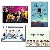 Windup BTS K-Pop Fan Army Art Fridge Magnetic Posters – Set of 4 - Size A5 (6x9 in) - Multi Color