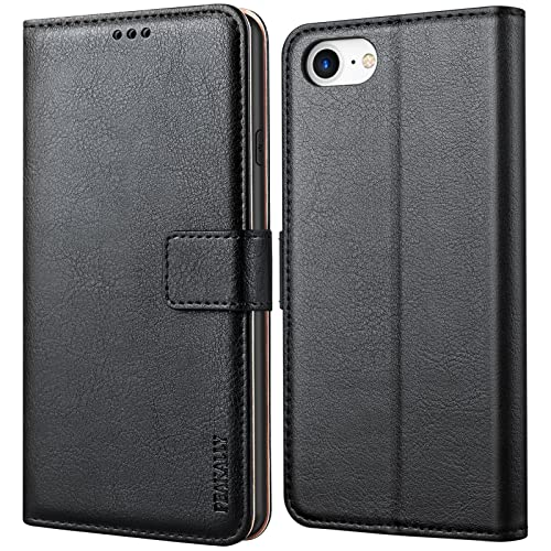 cover a portafoglio iphone 7 Peakally Cover per iPhone SE 2020/6/6S/7/8