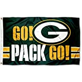 WinCraft Green Bay Packers Go Pack Go 3x5 Flag