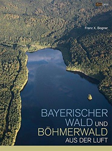 Bayerischer Wald und Böhmerwald aus der Luft