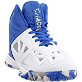 AND1 Kids Boys Chaos Basketball Sneakers Shoes Casual - White - Size 7 M