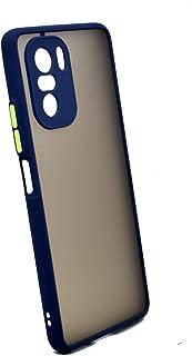 جراب حامل معدني مغناطيسي لهاتف Xiaomi Poco F3 & Mi 11i (أزرق)