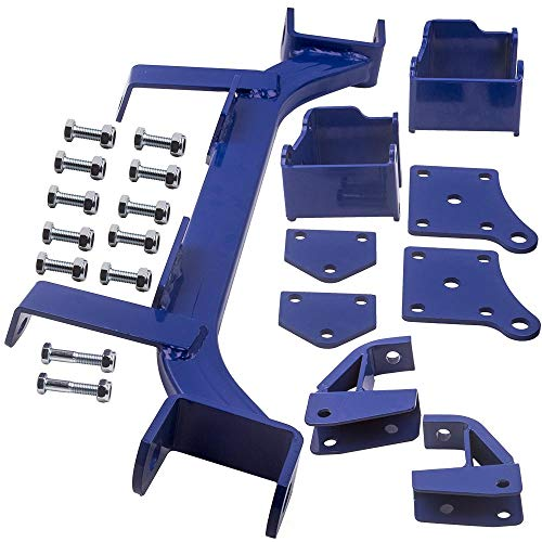 "Tuningsworld 6"" Drop Axle Lift Kits for EZGO Golf Cart Electric TXT Model 1994.5-2001.5"