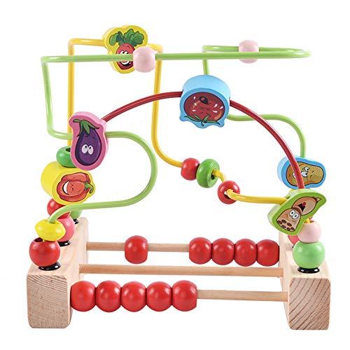 Actividad de juguetes de cubo Actividad De Madera Del Niño Educativos De Madera Del Juego De Cubo Con Formas Más Cortas De Bolas Laberinto De Aprendizaje Puzzle Juguetes Juguetes de aprendizaje preesc