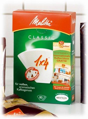 1x Melitta Filterpapier - Gewürzestreuer, Haushaltswaren